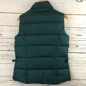 Eddie Bauer Jackets & Coats - Eddie Bauer Premium Goose Down Puffer Vest Green